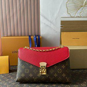 Louis Vuitton Pallas Chain Shoulder Bag Monogram C